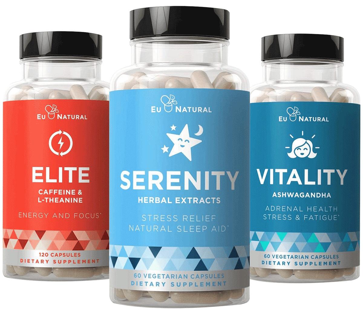 Eu Natural Elite, Serenity, Vitality